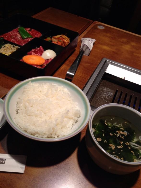 焼肉 上野太昌園 ランチ