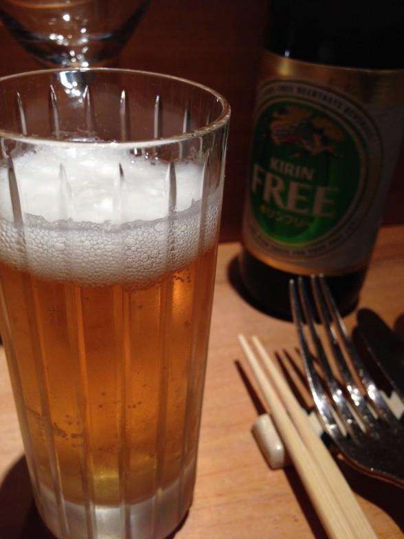 祗園おくむら ノンアルコールビール
