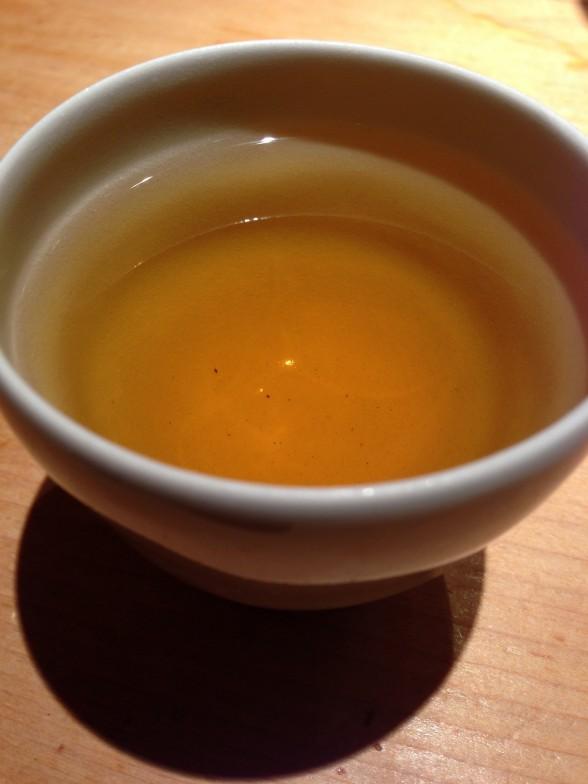 祗園おくむら 食後のお茶