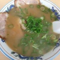 京都 丹波口駅から西へ1分【ラーメン百万石】しょうゆ味と焼めしのセット