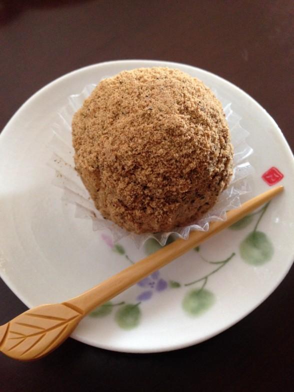和菓子処 匠大 丹波黒豆きな粉おはぎ