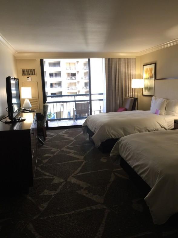 ヒルトン ホテル客室