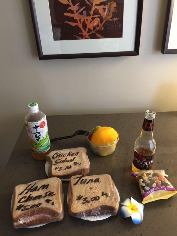 ヘンリーズプレイスのサンドイッチ
