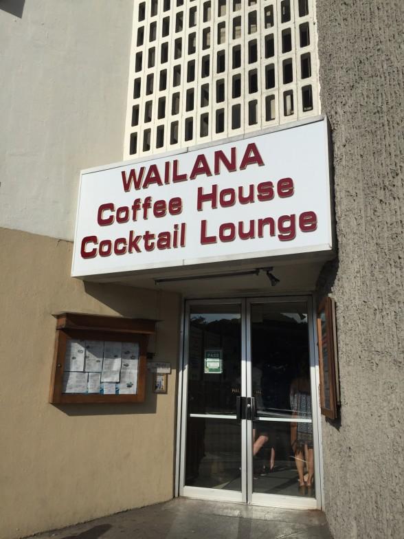 ワイラナ・コーヒー・ハウス 外観
