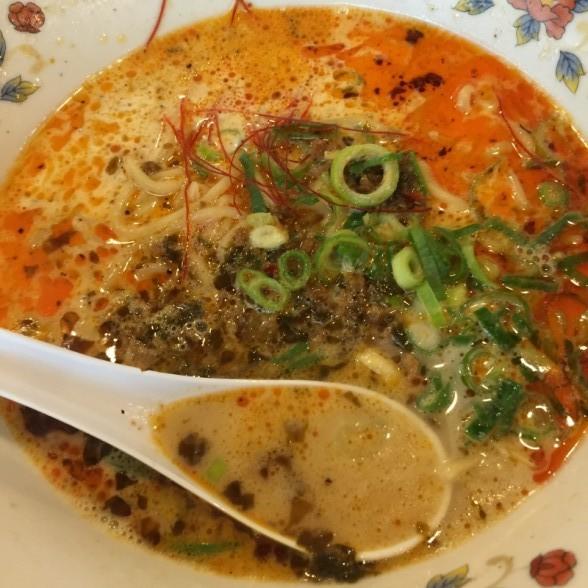 菜花亭 担々麺