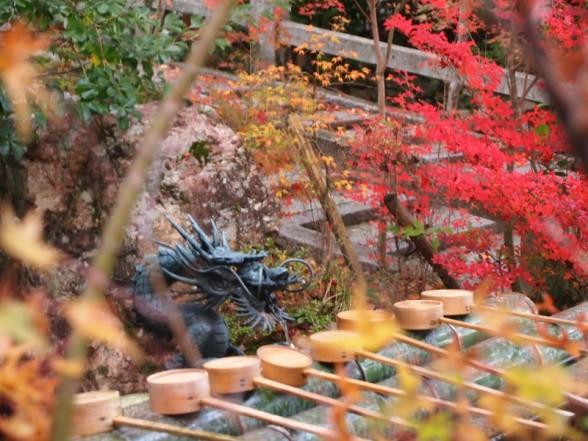 鍬山神社 水汲み場