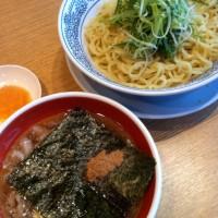 肉がうまい丸源の肉そばつけ麺【熟成醤油】