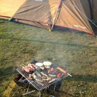 【遊んで温泉入って泊まれる】鈴鹿サーキットキャンプ場 SNOW PEAKのテントで宿泊