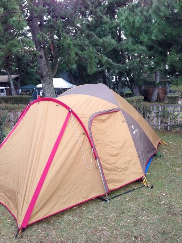 マイアミ浜オートキャンプ場 テント