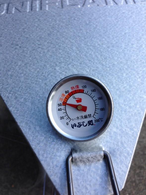 スモーカーの温度