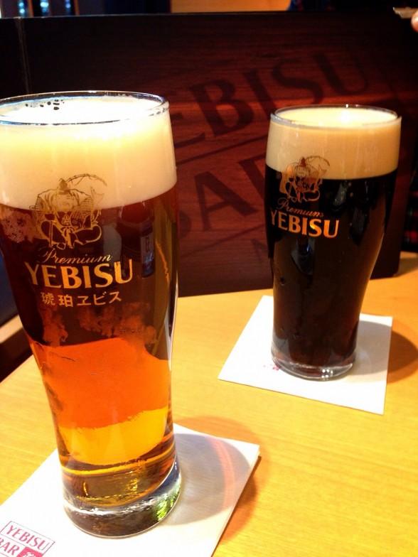 京都駅前で飲むならエビスバー・HUB/菜花亭のうまい!ラーメンをはしご