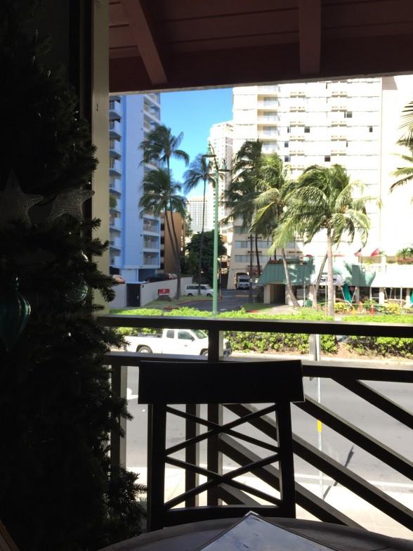 グーフィー・カフェ&ダインからの眺め