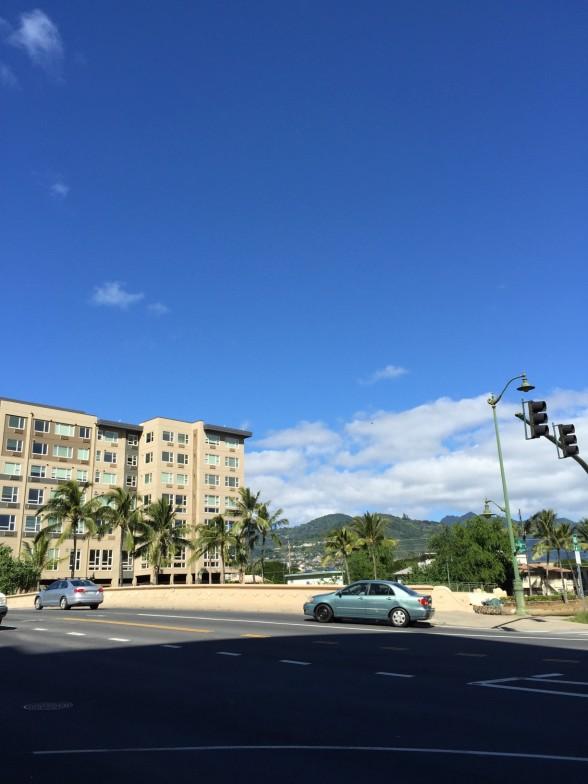 ハワイの街並み