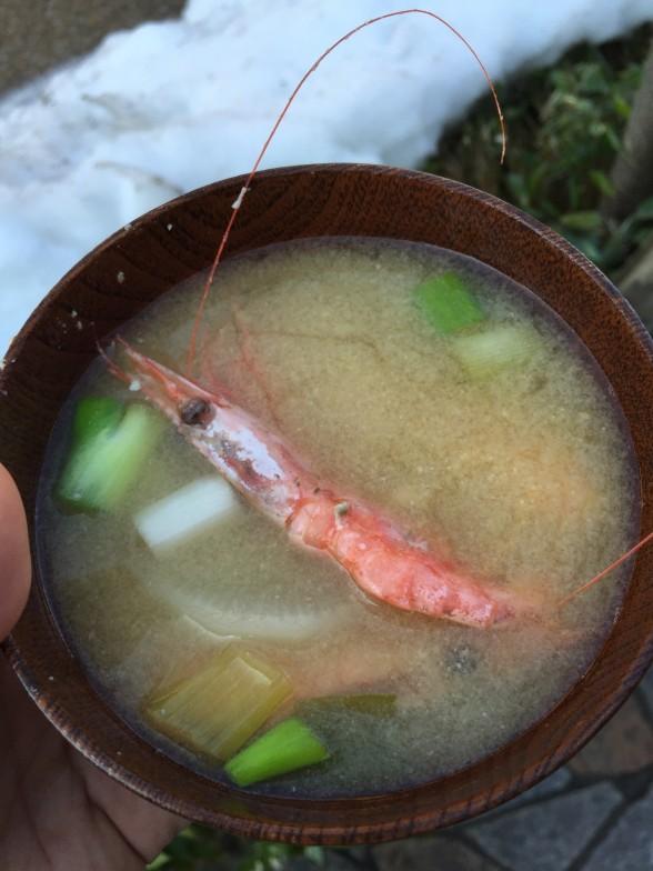 カニ汁大鍋