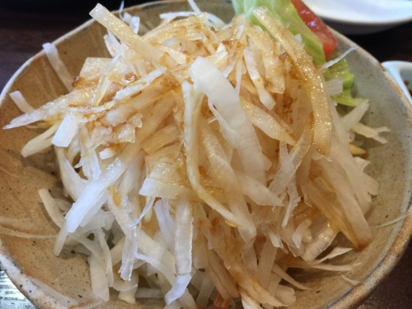 焼肉 山ちゃん 大根サラダ