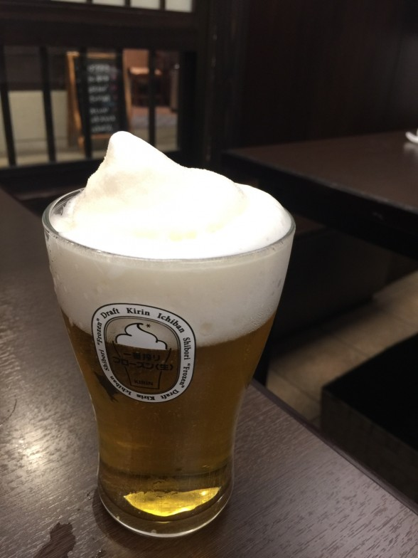 金沢おでん黒百合 一番搾りフローズン<生>