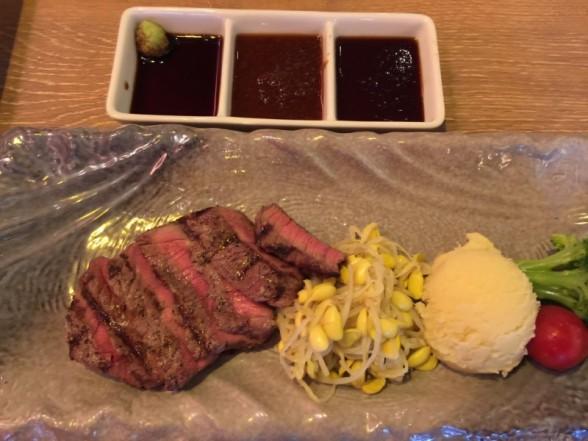 オープン記念の肉屋銀次郎 京都駅前西店にて肉バル体験・生ビール100円