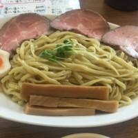 あいつのラーメンかたぐるまの限定うるとらつけ麺3玉/京都 丹波口駅近く